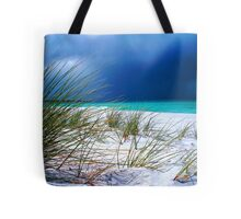 Bay of Firestorm Tote Bag