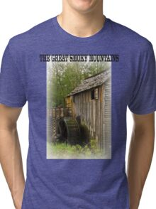 THE GREAT SMOKY MOUNTAINS Tri-blend T-Shirt