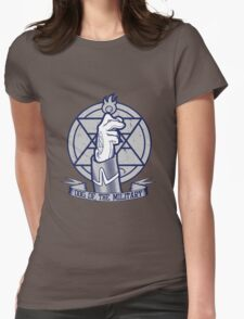 Dog of the Military: Flame Womens Fitted T-Shirt