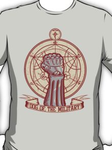 Dog of the Military: Full Metal T-Shirt