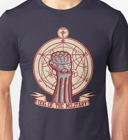 Dog of the Military: Full Metal Unisex T-Shirt