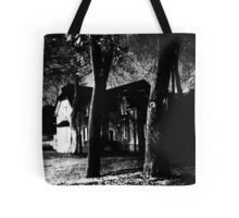 Alone night film grain #4 Tote Bag