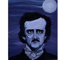 Edgar Allan Poe Study Photographic Print