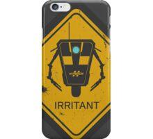 Caution: Irritant iPhone Case/Skin