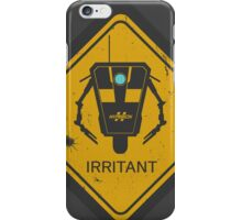 Caution: Irritant iPhone Case/Skin