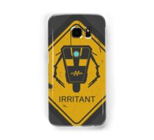 Caution: Irritant Samsung Galaxy Case/Skin