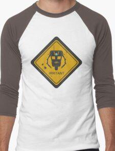 Caution: Irritant Men's Baseball ¾ T-Shirt