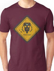 Caution: Irritant Unisex T-Shirt