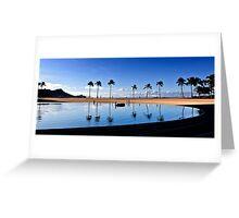 8:05 AM Hawaii Time Greeting Card