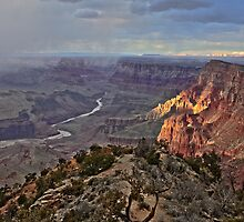 HDR - - Desert View - Grand Canyon National Park -- Rework by Dennis Jones - CameraView