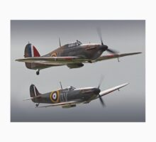 Hurricane And Spitfire Battle Of Britain T-Shirt