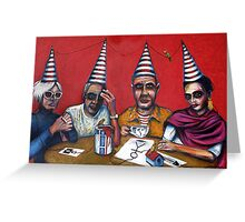 """""""The Painters"""" Greeting Card"""