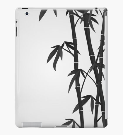 Bamboo stems iPad Case/Skin