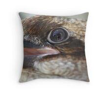 Kookaburra reflections Throw Pillow