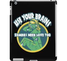 Use Your Brains iPad Case/Skin