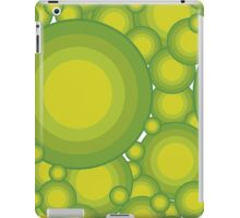 The Green bubbles iPad Case/Skin
