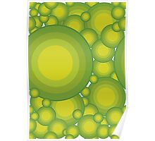The Green bubbles Poster