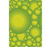 The Green bubbles Photographic Print