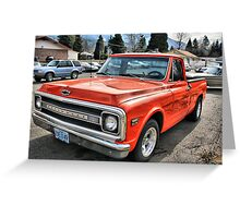 '72 Chevy C10 Greeting Card