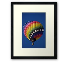 Hot Air balloon flight Framed Print
