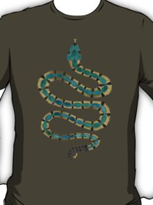 Emerald & Gold Serpent T-Shirt