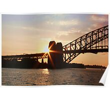 Sydney Harbour Sunshine Poster