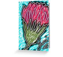 Summer carnations Greeting Card