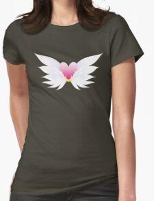 VM Eternal Sailor Moon brooch Womens Fitted T-Shirt