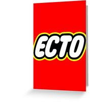 LEGO x ECTO logo Greeting Card