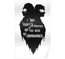 Silhouettes - Princess Commander Poster