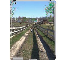 Farm Childhood  iPad Case/Skin