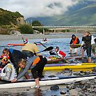 The Kayak Race by johngs
