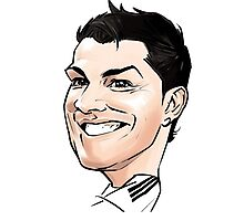 cr7-the best Photographic Print