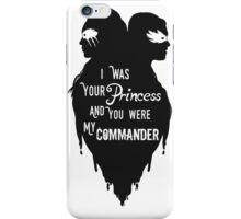 Silhouettes - Princess Commander iPhone Case/Skin
