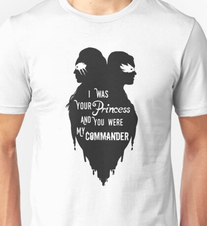 Silhouettes - Princess Commander Unisex T-Shirt