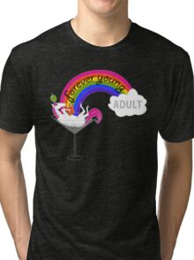Forever Young Adult Official Logo Tri-blend T-Shirt