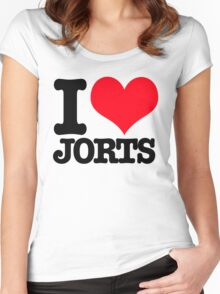 I <3 Jorts Women's Fitted Scoop T-Shirt