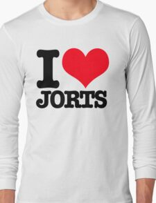 I <3 Jorts Long Sleeve T-Shirt