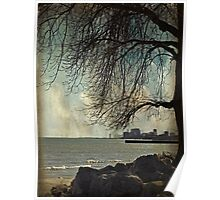 city under a tree Poster