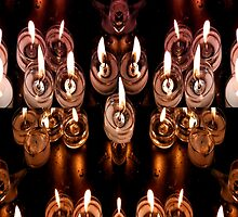 Good Friday Fayre Votive Candles Chichester West Sussex by christo65