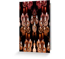 Good Friday Fayre Votive Candles Chichester West Sussex Greeting Card