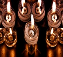 Good Friday Fayre Votive Candles Chichester West Sussex Sticker