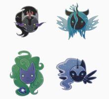 MLP - Pony Villains by Alidythera