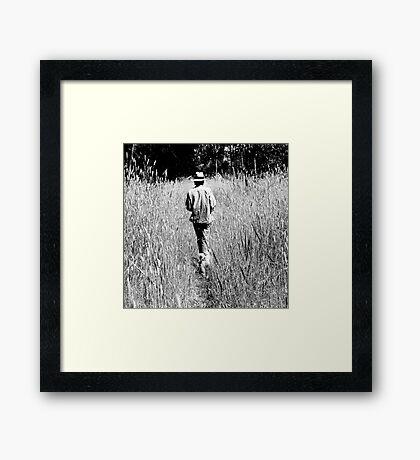 Tall Grasses Framed Print