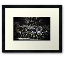 Amish Traveler Framed Print