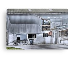 Barn n' Buggy Metal Print