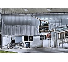 Barn n' Buggy Photographic Print