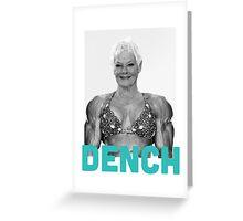 Dame Judi DENCH Greeting Card