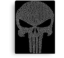 The Punisher - Tally Canvas Print