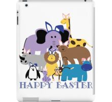 Happy Easter at the Zoo iPad Case/Skin